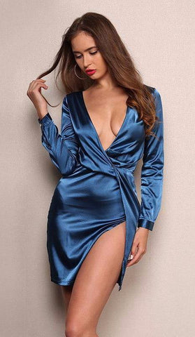 Hollie Satin Dress