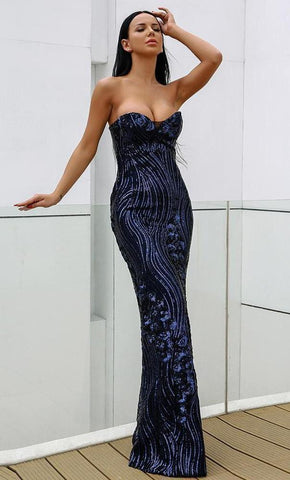Paisley Luxe Gown