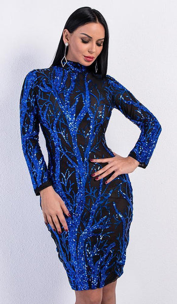 Mya Sequin Dress