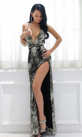 Jess Sequin Luxe Gown