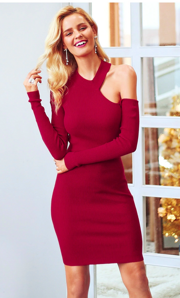 Tammy Cutout Sweater Dress