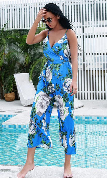 Edith Floral Jumpsuit
