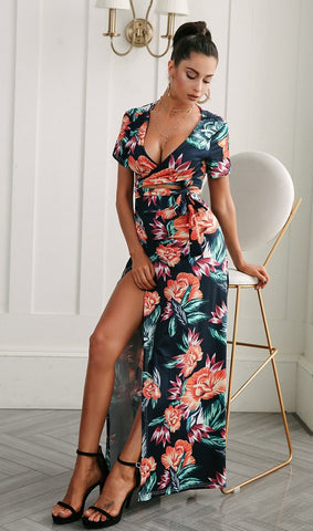 Lyrica Floral Dress Outfit