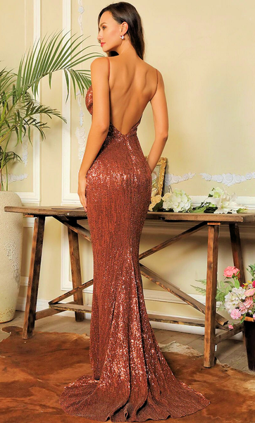 Patricia Sequin Luxe Gown
