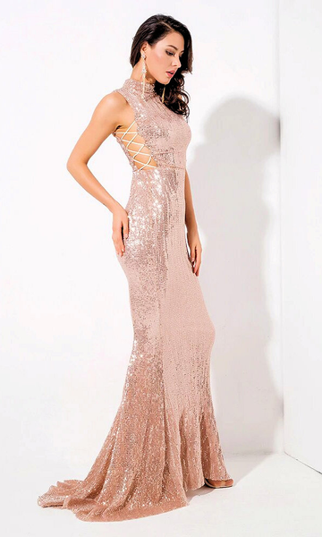 Fiona Sequin Luxe Gown