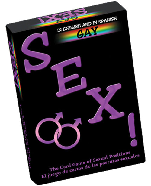 Gay Sex Card Game - Bilingual