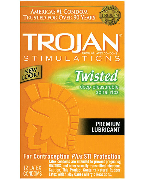 Twisted Pleasure Condoms
