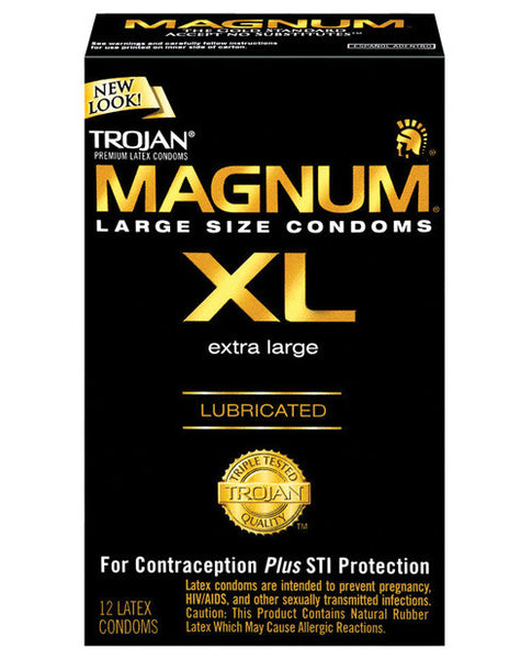 Magnum XL Lubricated Condom