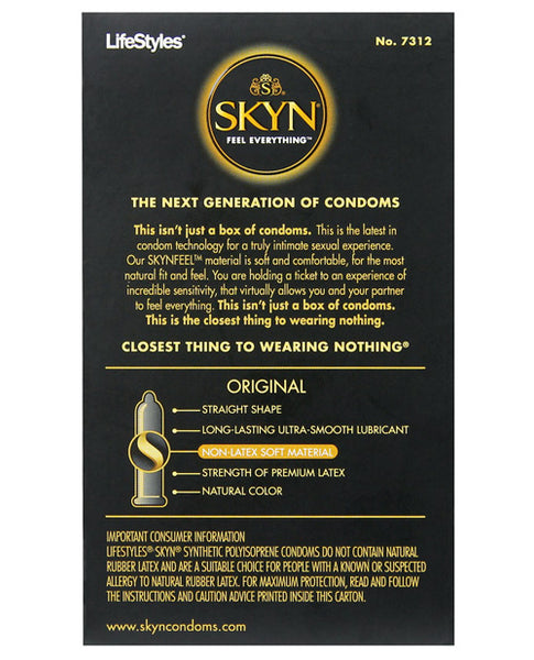 Lifestyles SKYN Non-Latex - Box of 12
