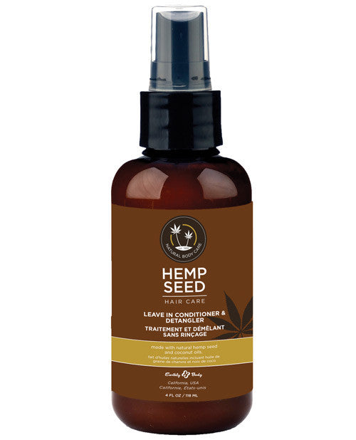 Hemp Seed Leave In Conditioner & Detangler