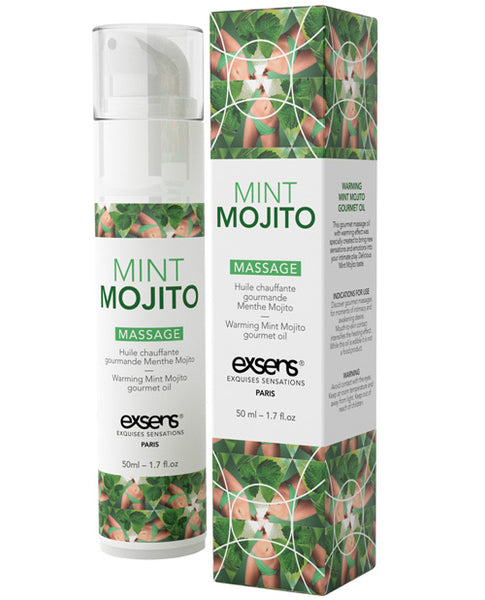 Ultimate Edible Warming Massage Oil- Mint Mojito