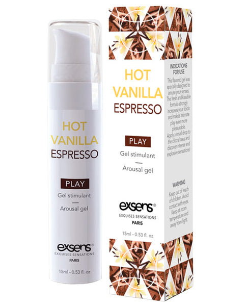 EXSENS of Paris Arousal Gel - Hot Vanilla Espresso