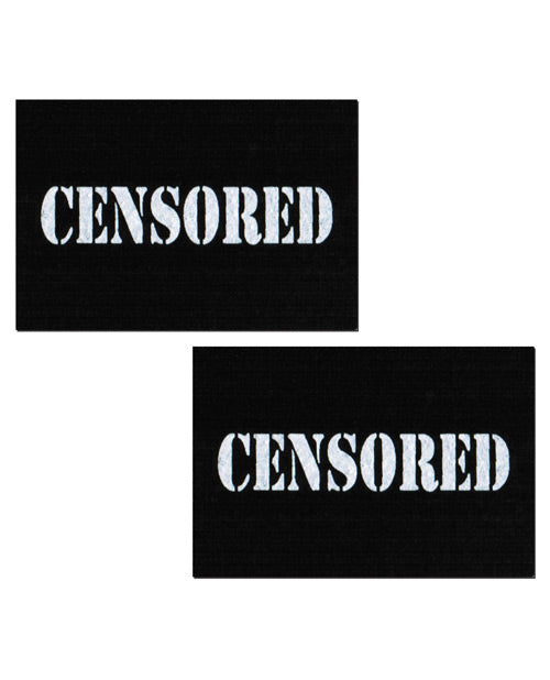 Censored Pastie - Black/White O/S