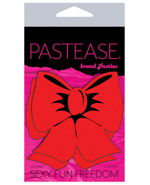 Pastease Bow - Red O/S