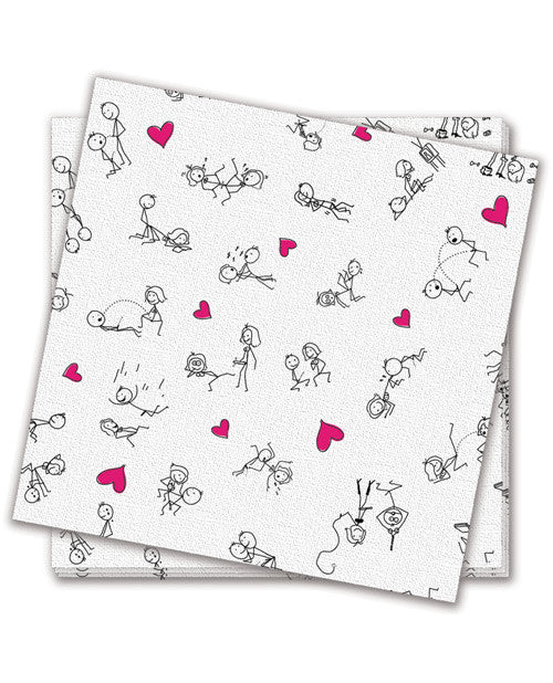 Dirty Dishes Position Napkins - Bag of 8