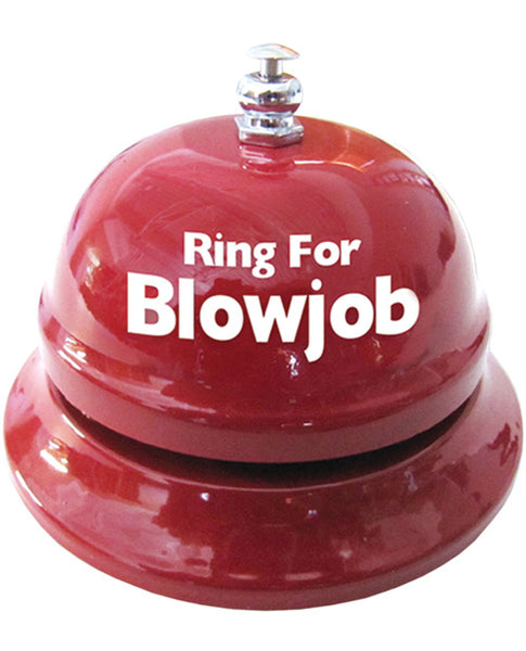 Ring for Blow Job Table Bell