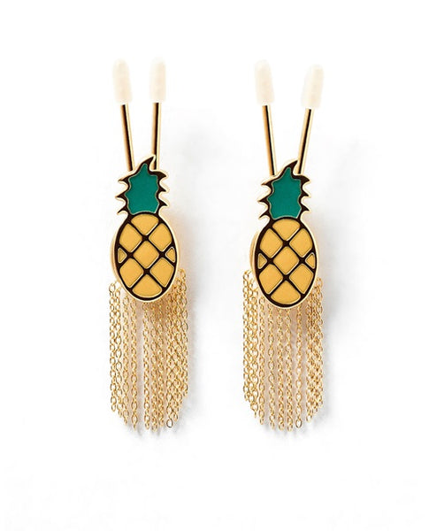 TWIGGY PINEAPPLE EARRING NIPPLE CLAMPS