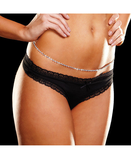 "Rhinestone 39"" Belly Chain"