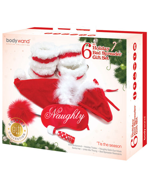 Bodywand 6 pc Holiday Bed Spreader Gift Set