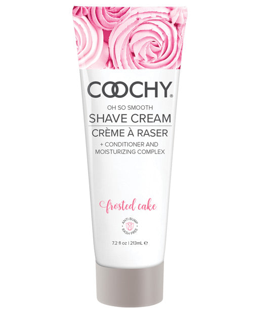 COOCHY Shave Cream - 7.2 oz Frosted Cake