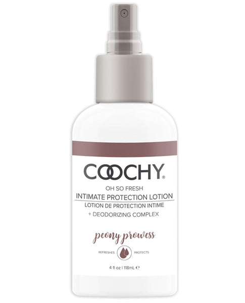 COOCHY Intimate Protection Lotion - 4 oz Peony Prowess