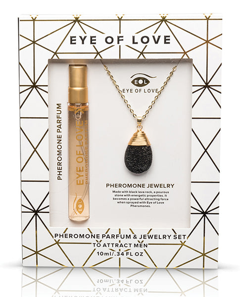Eye of Love Pheromone Parfum Necklace