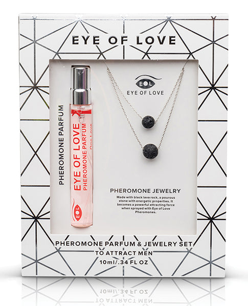 Eye of Love Pheromone Parfum Necklace Double