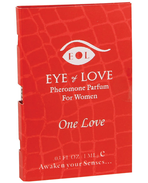 Eye of Love Pheromone Parfum Sample - 1 ml One Love