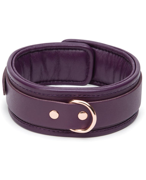 Fifty Shades Cherished Collection Leather Collar & Lead