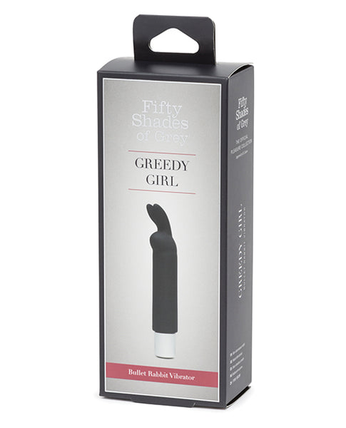 Fifty Shades of Grey Greedy Girl Rechargeable Bullet Rabbit Vibrator