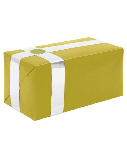 Gift Wrapping For Your Purchase (Gold w/White Ribbon)