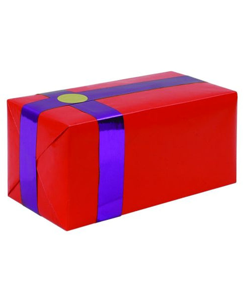 Gift Wrapping For Your Purchase (Red w/Purple Ribbon)