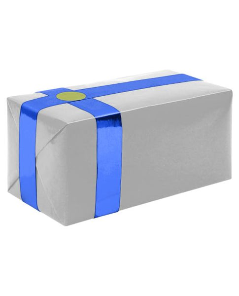 Gift Wrapping for your Purchase(Silver w/Blue Ribbon)