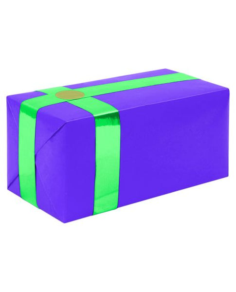 Gift Wrapping For Your Purchase (Purple w/Teal Ribbon)