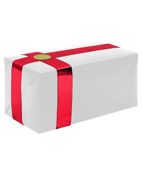 Gift Wrapping For Your Purchase (White w/Red Ribbon)