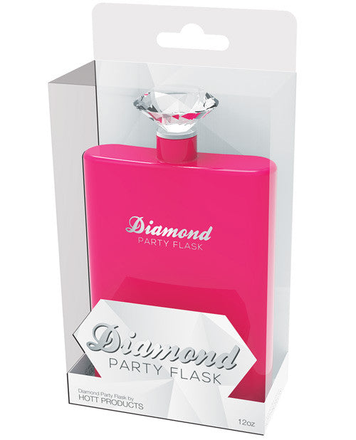 Diamond Party Flask
