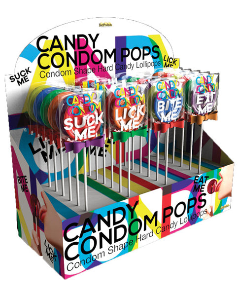 Condom Pops Candy Shape Lollipops