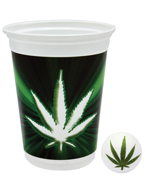 Pot Leaf Pong Set