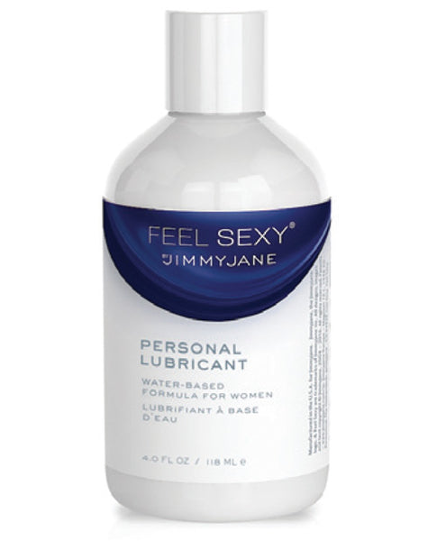 Jimmyjane Feel Sexy Waterbased Personal Lubricant - 4 oz