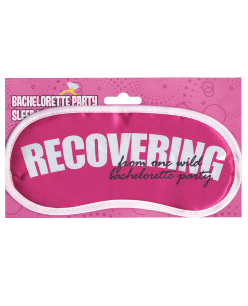 Party Sleep Mask - Recovering