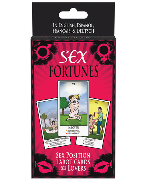 Sex Fortunes Tarot Cards for Lovers