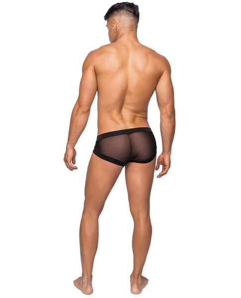 Stretch Mesh Micro Mini Short
