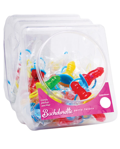 Candy Pecker Pacifier Ring - Bowl of 48