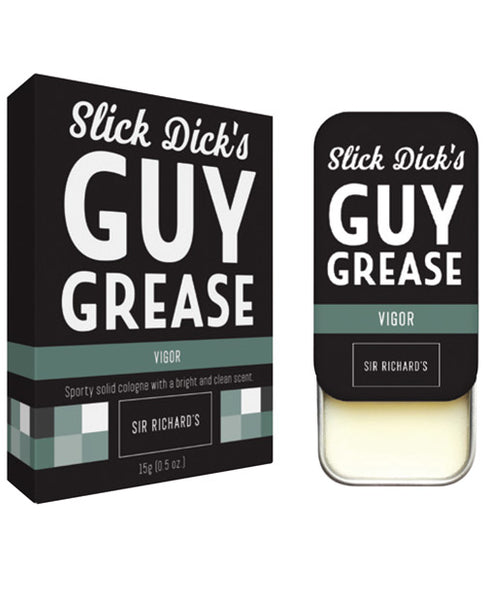 Sir Richard's Slick Dick's Guy Grease Solid Cologne w/Pheromones - Vigor/Sport