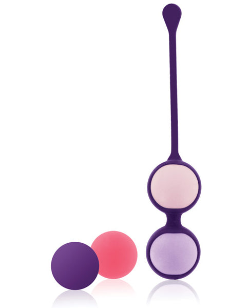 Pussy Playballs w/Cosmetic Case - Coral Rose