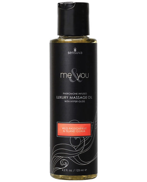 Me & You Massage Oil With Pheromones