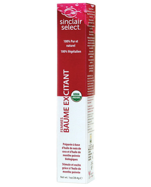 Sinclair Institute USDA Organic Feminine Arousal Balm