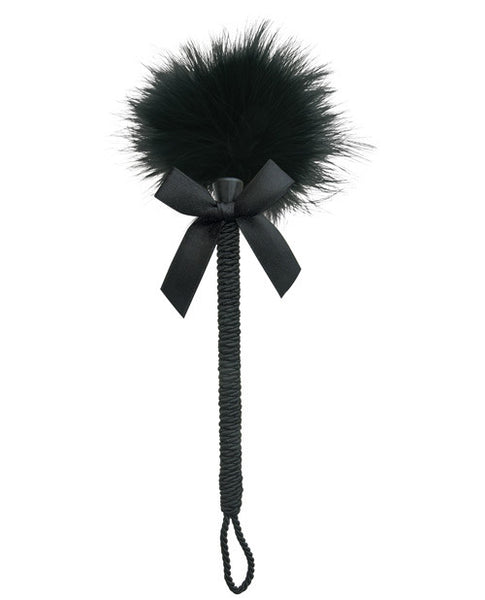 Midnight  Feather Tickler - Black