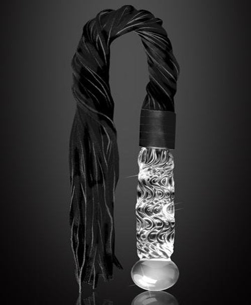 Clear Glass Flogger/ Dildo