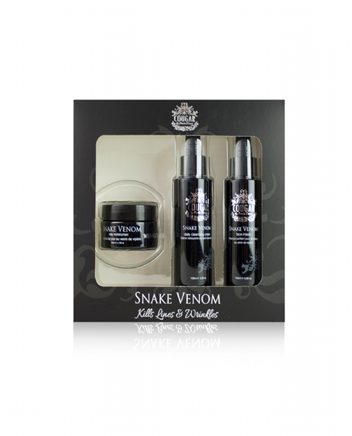 Snake Venom 3 Piece Skin Care Set